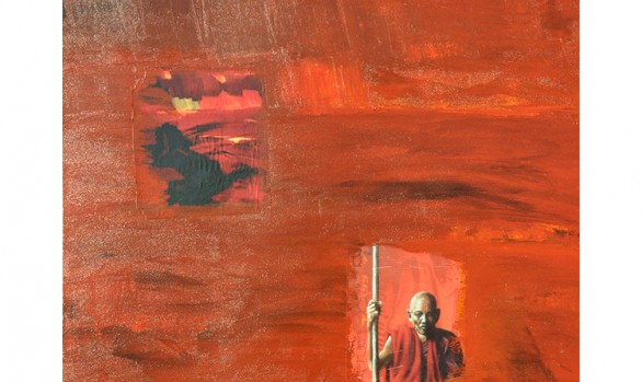 Tibet Collage